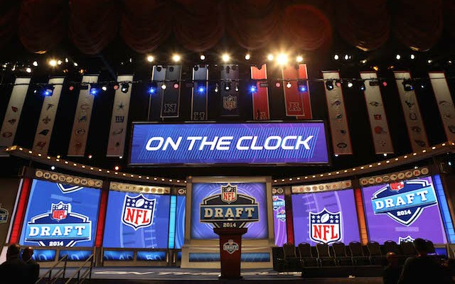 You can't go to the draft unless you're invited. (USATSI)