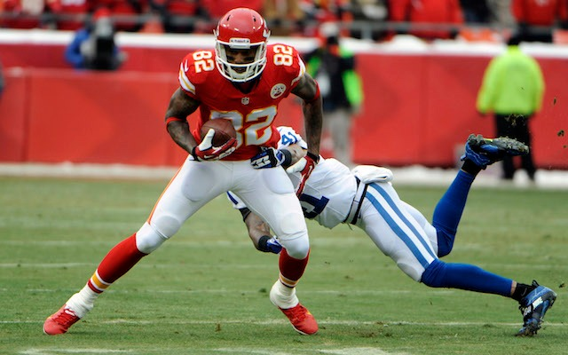 Dwayne Bowe missed practice on Thursday because of a concussion. (USATSI)