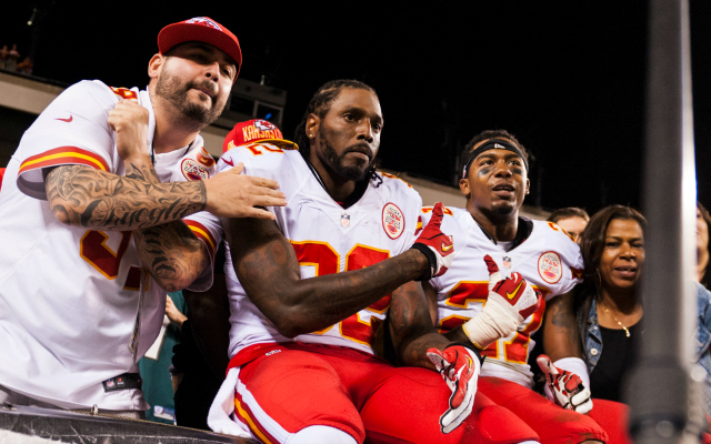 The Chiefs are having a big year, but Dwayne Bowe is not.