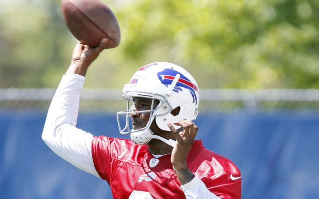 EJ Manuel says he's '100 percent healthy' for 2014.