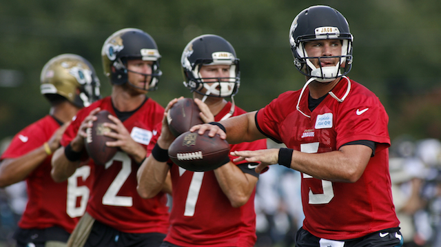 Blake Bortles is the big story to watch during Thursday's Jaguars-Bears game.