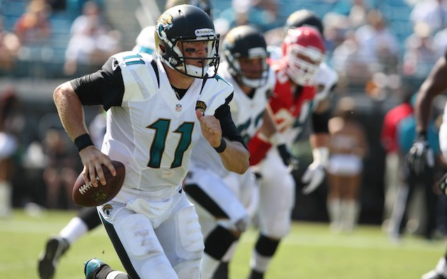 Blaine Gabbert is expected to be the Jaguars starting quarterback in Week 4. (USATSI)