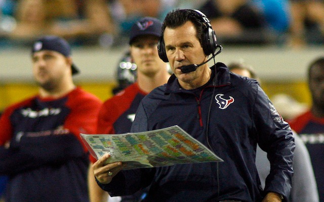 Gary Kubiak was fired by the Texans on Friday. (USATSI)
