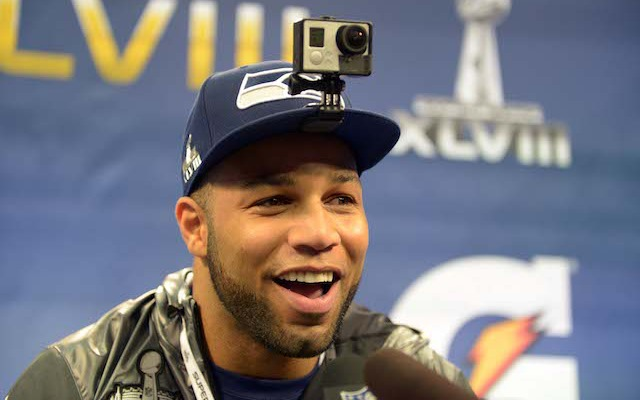 Golden Tate isn't in Seattle because the Seahawks gave him a 'laughable' final offer. (USATSI)
