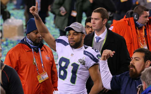 Golden Tate is headed for Detroit. (USATSI)