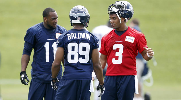 Golden Tate thinks the Seahawks can succeed without Percy Harvin.