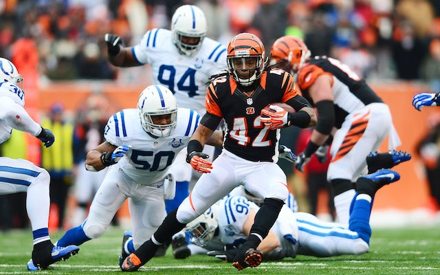BenJarvus Green-Ellis' historical performance didn't help him make the Bengals squad. (USATSI)