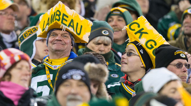 The Green Bay Packers posted record profits in 2013. (USATSI)
