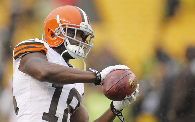 Greg Little was released by the Browns Friday.