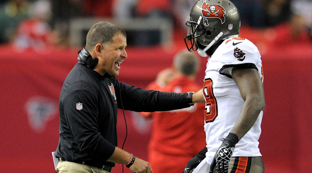 Greg Schiano apparently isn't very popular in Tampa Bay.