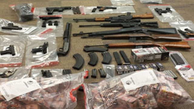 Here's what was found at a drug bust in Pittsburgh. (Attorney General's Office via KDKA)