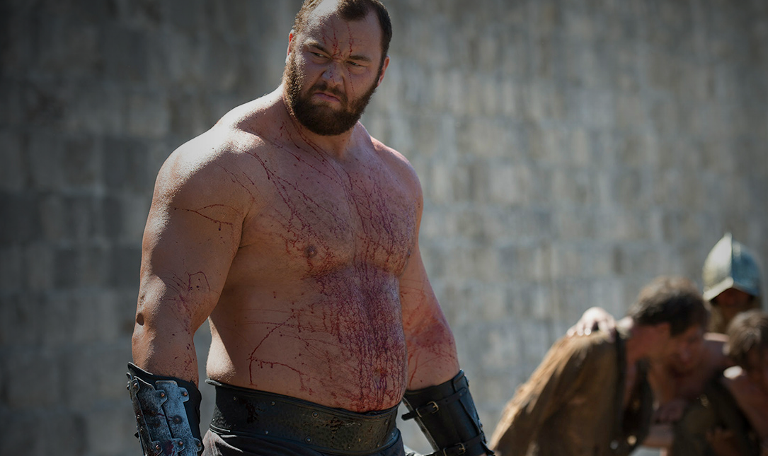 Hafthor Bjornsson, The Mountain from 'Game of Thrones,' once nearly signed with the Colts.