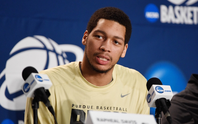 A.J. Hammons has been sidelined this year with an unspecified issue. (USATSI)