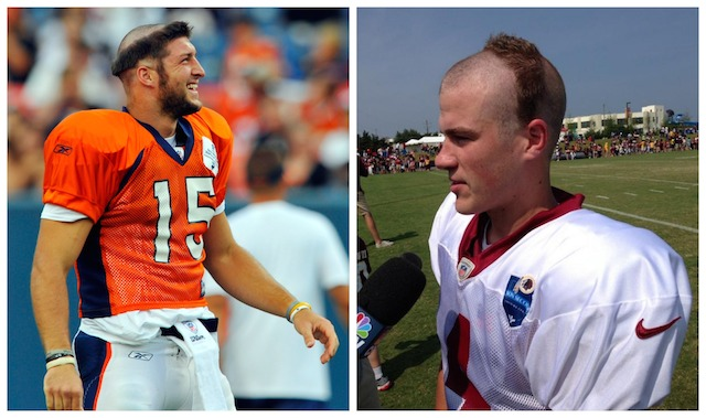 Whose haircut is worse? (USATSI/Twitter/@EricKolenichRTD)
