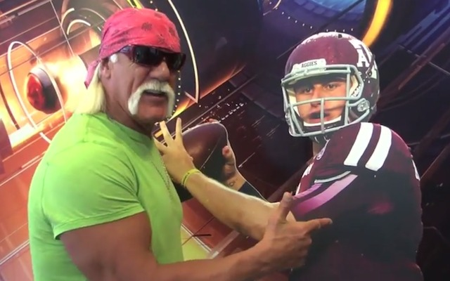 Hulk Hogan has a new favorite NFL player. (ESPN)