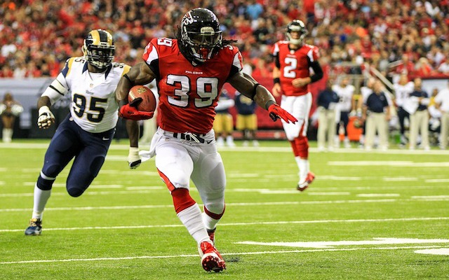 Steven Jackson has been ruled out for Atlanta's Week 3 against the Dolphins. (USATSI)