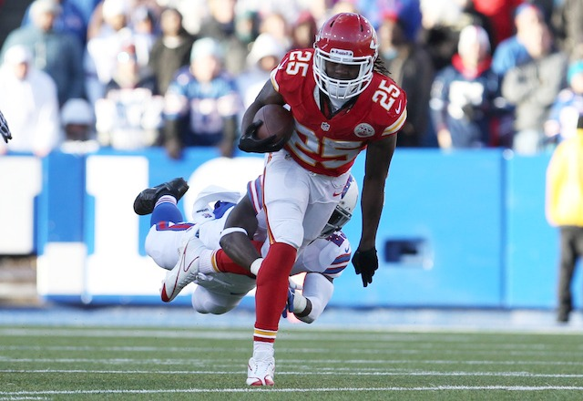 The Chiefs offense leans heavily on running back Jamaal Charles. (USATSI)