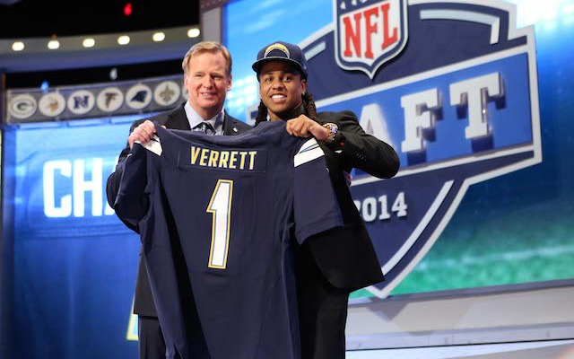 Jason Verrett could be a rookie starter in San Diego. (USATSI)