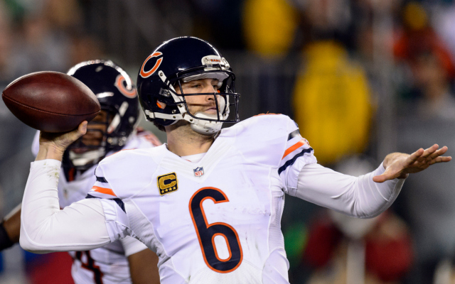 At least one Chicago restaurant isn't confident in Jay Cutler.