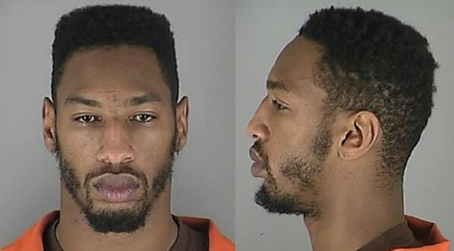 A.J. Jefferson's booking photo after Monday's arrest. (Hennepin Co. Sheriff's Office)