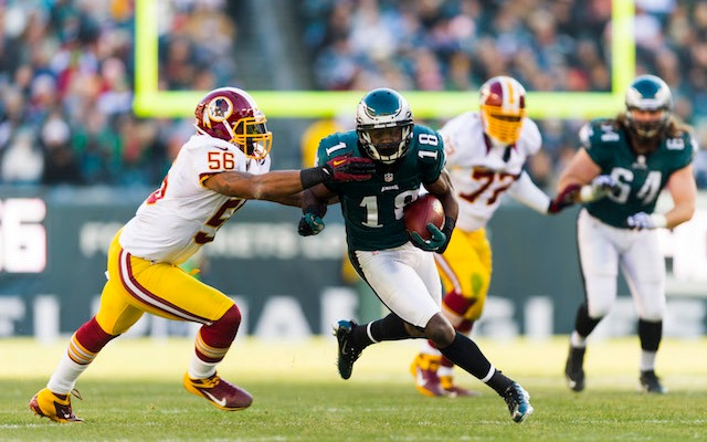 Jeremy Maclin thinks the Eagles will 'be fine' without DeSean Jackson. (USATSI)