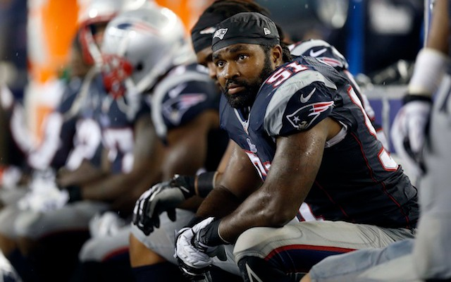 Jerod Mayo could be sidelined for the rest of the season after undergoing surgery on Tuesday. (USATSI)