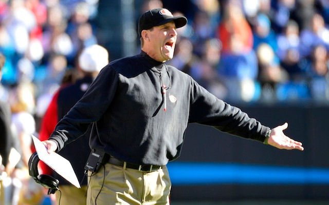 Jim Harbaugh was almost the coach of the Browns. (USATSI)