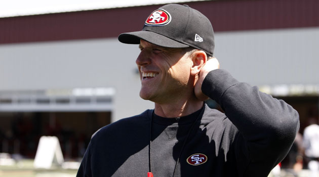 Jim Harbaugh says he's