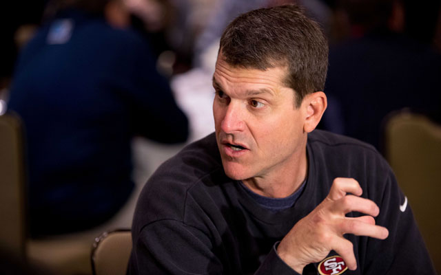 Negotiations between the 49ers and Jim Harbaugh have reportedly stalled.