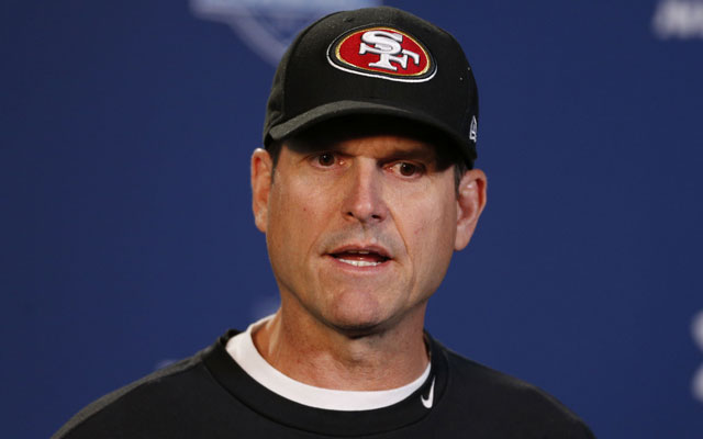 Has Jim Harbaugh's 'act worn thin' in San Francisco's locker room?