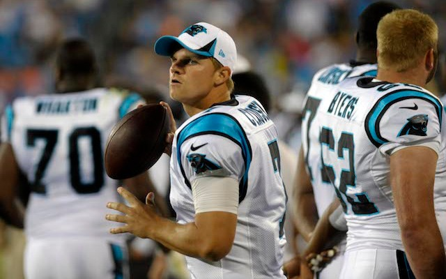 Bears sign former Panthers QB Jimmy Clausen to one-year deal