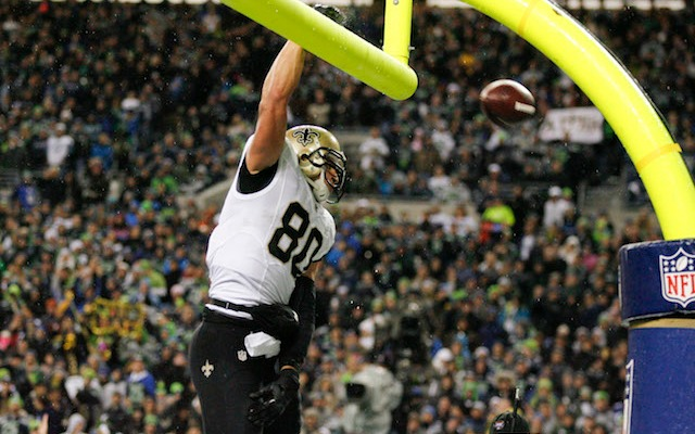 Jimmy Graham isn't a slam dunk to win his grievance. (USATSI)