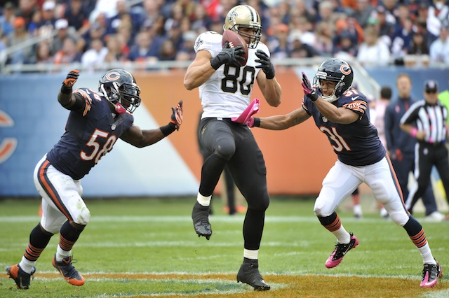 Defenders should just give up because there's no stopping Jimmy Graham. (USATSI)