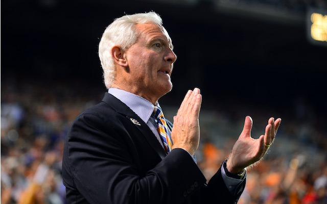 Browns owner Jimmy Haslam says there was an 'opportunity' for his team to get Jim Harbaugh. (USATSI)