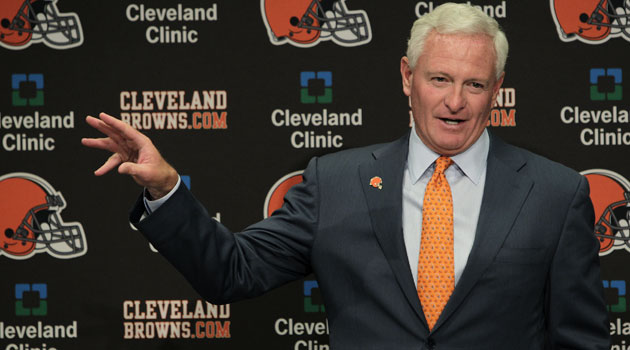 Haslam plans to return to Cleveland later this week. (AP)