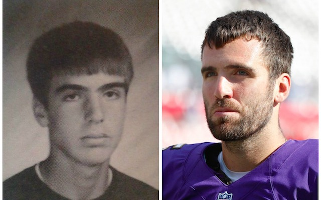 LOOK: Here's what Joe Flacco looked like in high school ...