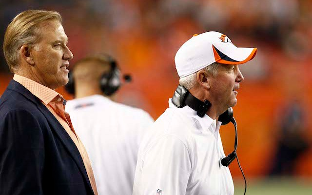 John Elway would like to keep John Fox in Denver for a few more years. (USATSI)
