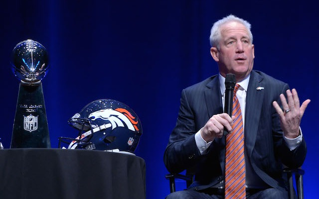 John Fox will get a few more chances to win a Lombardi Trophy in Denver. (USATSI)