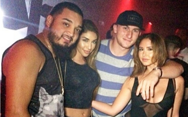 There's nothing wrong with Johnny Manziel partying in the offseason. (Instagram/@ChantelJeffries)