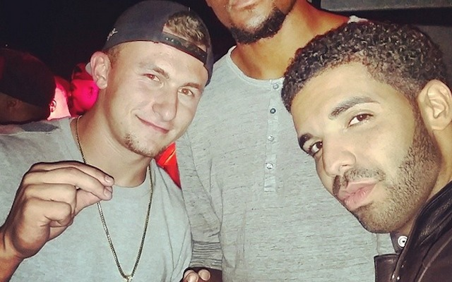 Don't worry, Drake and Johnny Manziel are still best friends. (Instagram/@JManziel2)