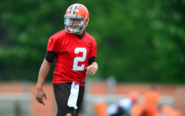 Johnny Football needs to keep 'Johnny Fun Times' in check. (USATSI)