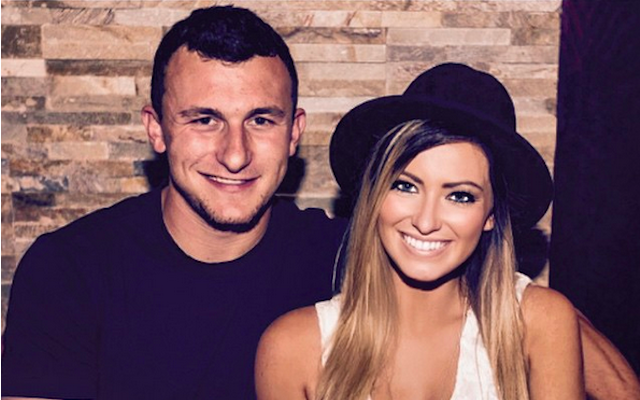 Johnny Manziel says there was no incident with his ex-girlfriend. (Instagram/Jmanziel2)