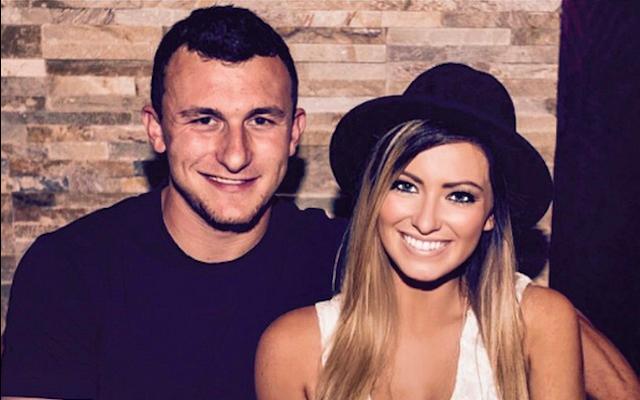 Report: Johnny Manziel denies that he hit his ex-girlfriend