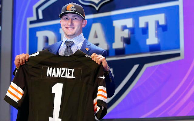 Johnny Manziel is off-limits to the national media next week. (USATSI)