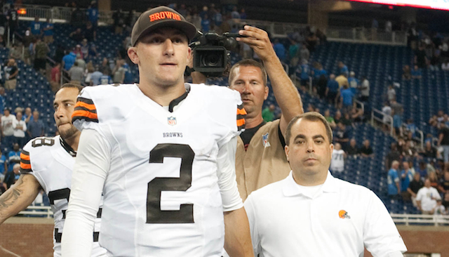 Johnny Manziel says he's not 'ready' for Week 1 against Pittsburgh ... yet.