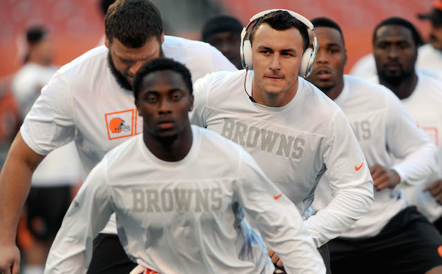Johnny Manziel might get reps against the Steelers in Week 1.