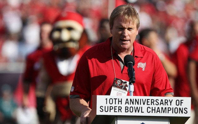 Will Jon Gruden ever return to coaching? Former NFL MVP Rich Gannon thinks he will. (USATSI)