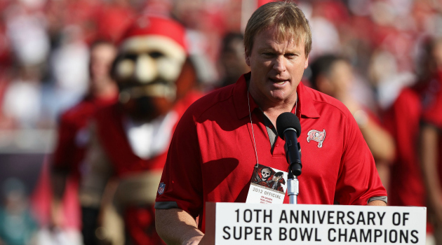 Jon Gruden says he 'would like to give coaching one more try.'