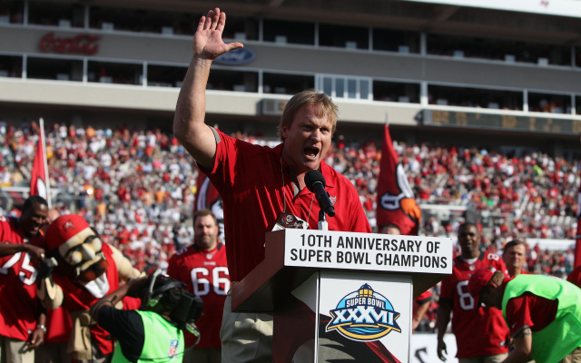 Jon Gruden doesn't want to be considered for the open NFL jobs.