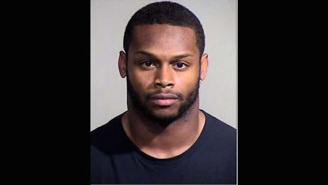 Jonathan Dwyer's mugshot from Wednesday. (Maricopa County Sheriff's Office)